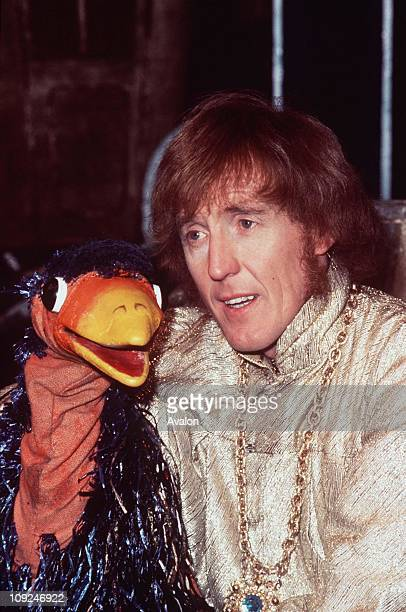 British Entertainer and Ventriloquist Rod Hull with his puppet EMU