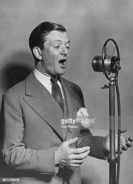 British entertainer Bobby Howes circa 1930