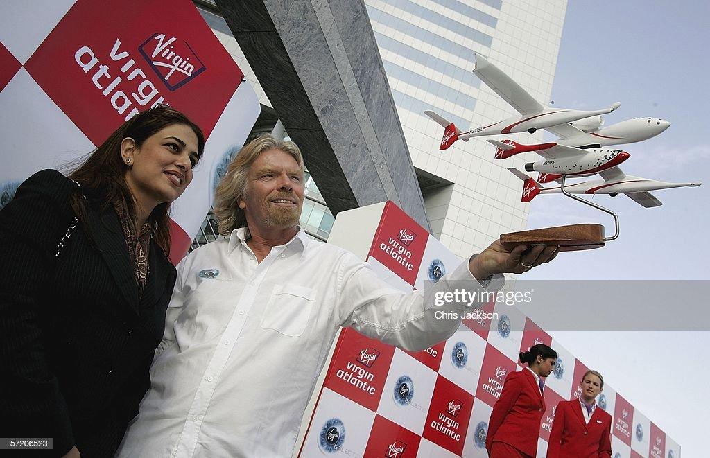 Virgin Atlantic's Richard Branson In Dubai - Day 2 : News Photo