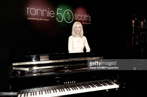 British entrepreneur and impresario Sally Greene posed at Ronnie Scott's Jazz Club in Soho, London on 7th September 2009.