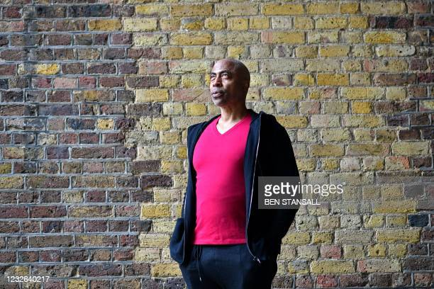 British entrepreneur Eric Collins poses for a photograph in London on April 7, 2021. - As one of the few black venture capitalists, Eric Collins is...