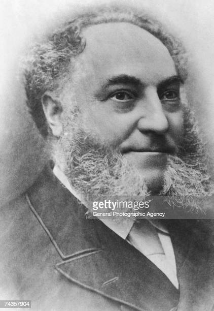 British entrepreneur William Whiteley founder of Whiteley's department store in London circa 1890