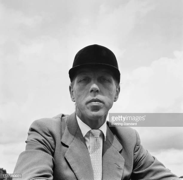 British equestrian and Olympic medalist Peter Robeson , UK, 5th September 1968.