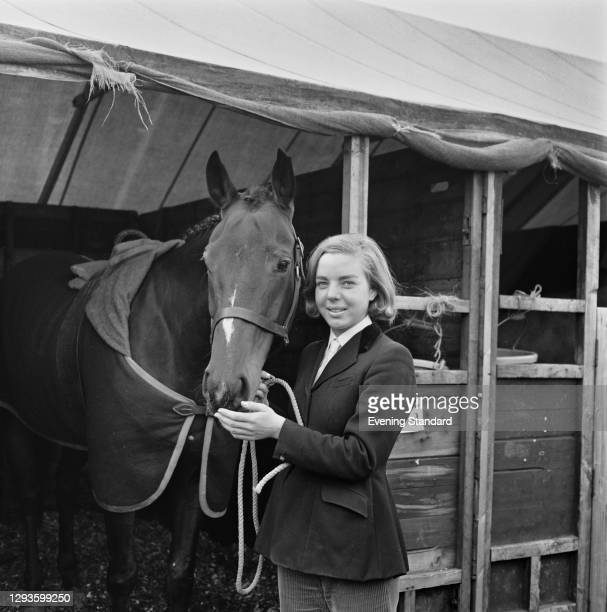 British equestrian Ann Moore, UK, 7th October 1967.