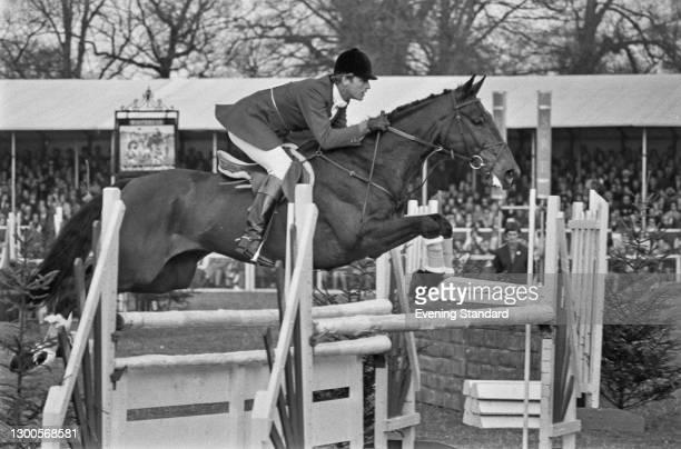 British equestrian Richard Meade at the Badminton Horse Trials, UK, April 1973.