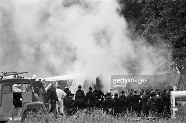 British European Airways Flight 548 passenger flight from London Heathrow Airport to Brussels, crashed near the town of Staines, less than three...
