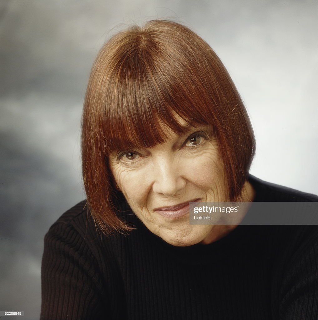 British fashion designer Mary Quant, photographed in the Studio on 13th January 1997. (Photo by Lichfield/Getty Images).