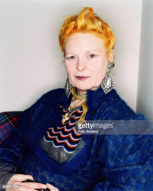 British fashion designer Vivienne Westwood London 26th March 2003