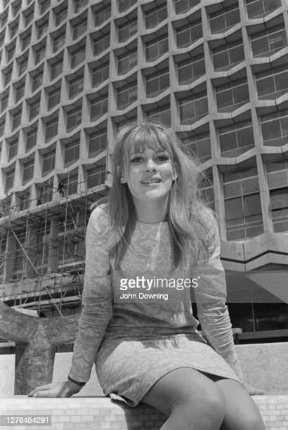 British fashion model and magazine editor Vikki Nixon aka Victoria Nixon London UK 28th April 1966