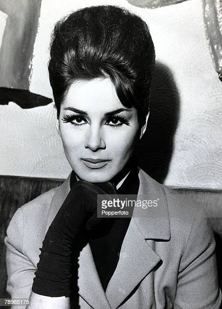 1960's British fashion model showgirl and socialite April Ashley pictured at her Pimlico London flat April Ashley born 1936 caused a sensation when...