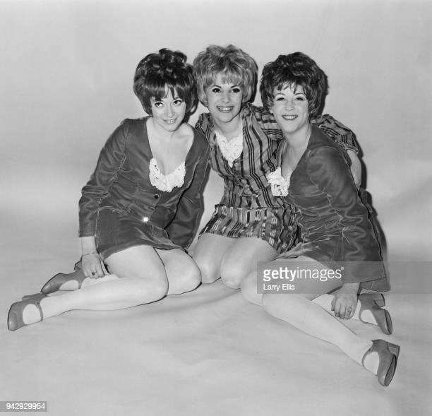 British female vocal trio Paper Dolls UK 15th February 1968 Susanne Mathis Susan Marshall Pauline Bennett