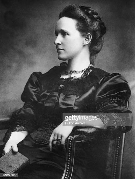 British feminist and suffragist Millicent Fawcett circa 1870