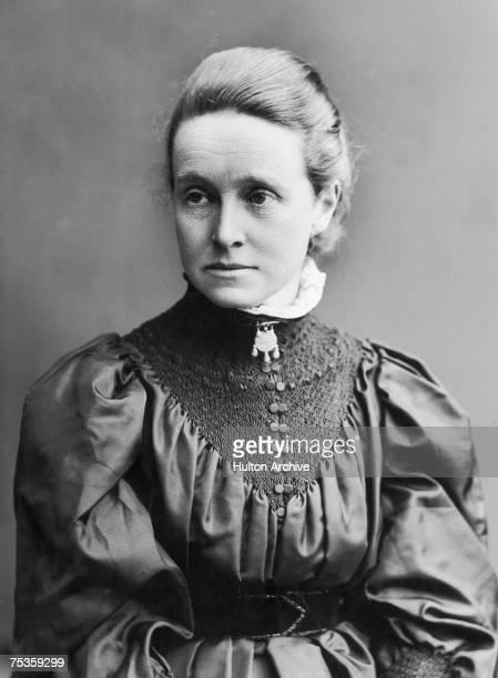 British feminist and suffragist Millicent Fawcett circa 1885