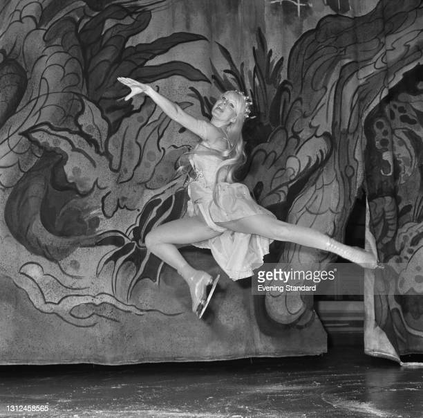 British figure skater Patricia Pauley, UK, 9th January 1973.