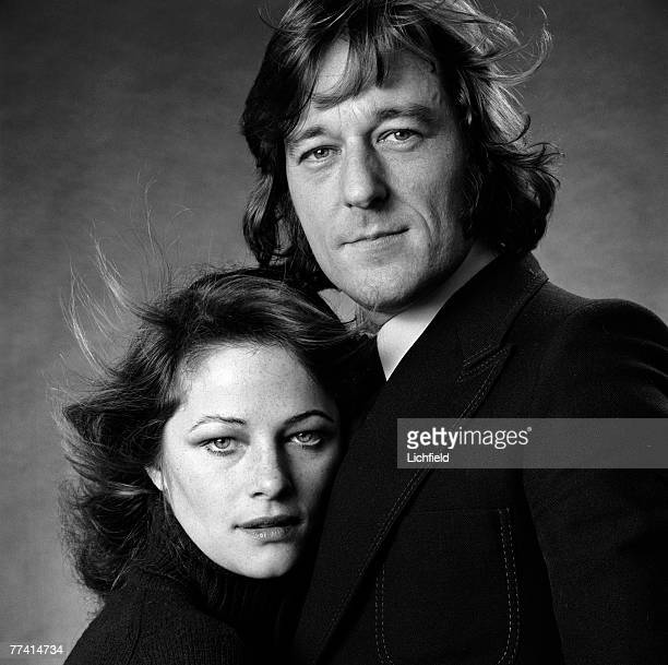 British film actress and former model Charlotte Rampling with her husband Bryan Southcombe on 2nd February 1972
