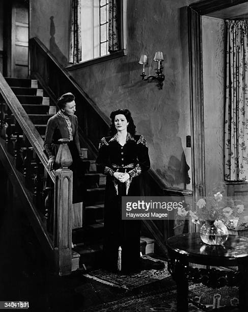 British film actress Margaret Lockwood plays the title role in the GFD film 'Bedelia' directed by Lance Comfort Original Publication Picture Post...