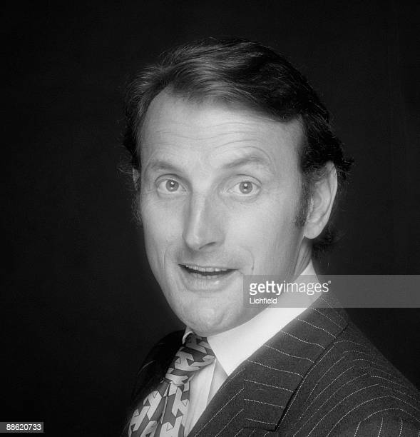 British film and television actor and radio presenter Gerald Harper photographed on 25th July 1974