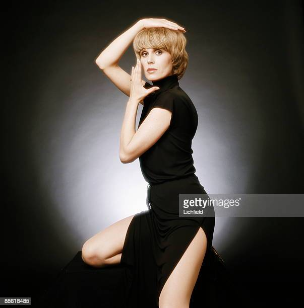 British film and television actress and model Joanna Lumley in her role as Purdey in 'The New Avengers' on 12th May 1977