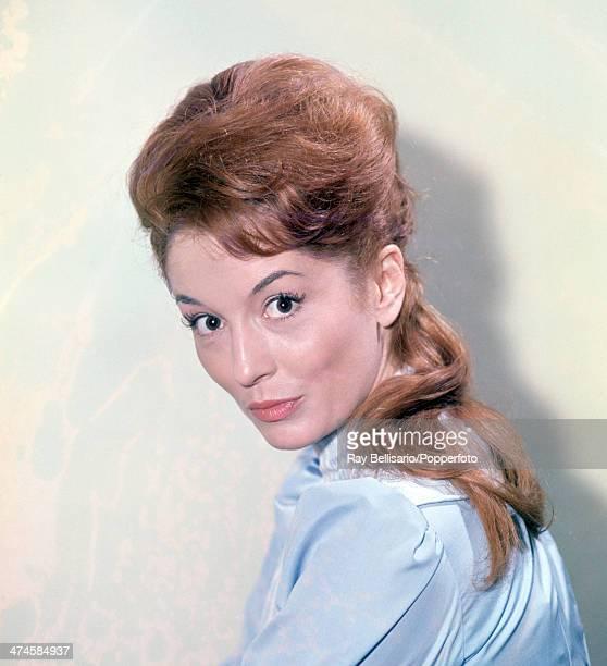 British film and television actress Barbara Shelley, circa 1962.