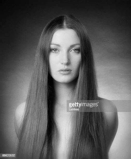 British film and television actress Jane Seymour photographed on 15th January 1974