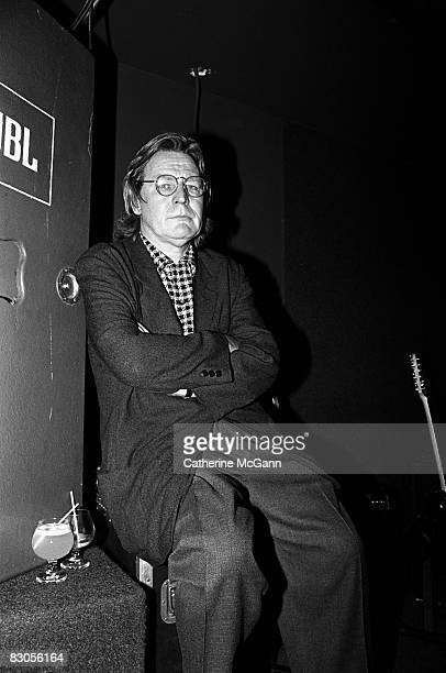British film director Alan Parker at a party for the release of his film The Commitments on August 13 1991 in New York City New York