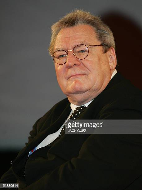 British film director Alan Parker is seen at the opening of the 4th Marrakesh International Film Festival 06 December 2004 Sixtyfive films will be...