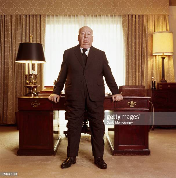 British film director Alfred Hitchcock August 1976