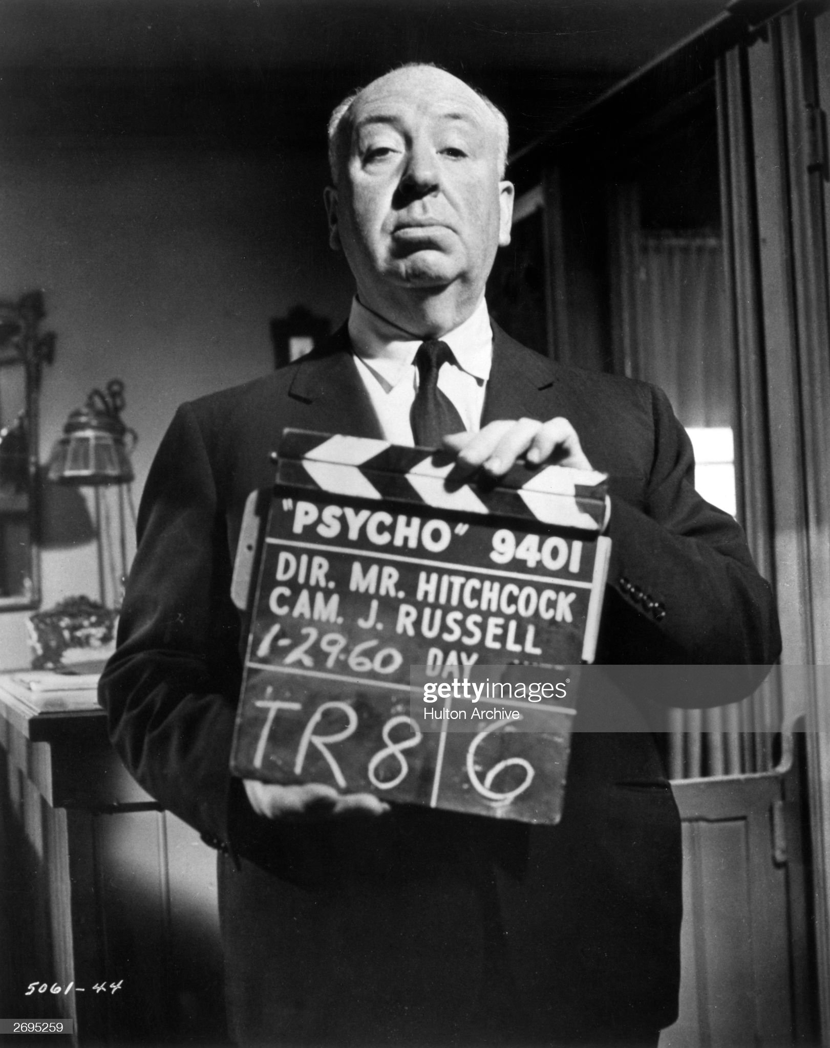 Alfred Hitchcock 'psycho'