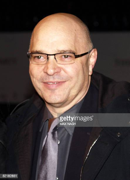 British film director Anthony Minghella arrives at the London Party on the eve of the British Academy Film Awards in London 11 February 2005