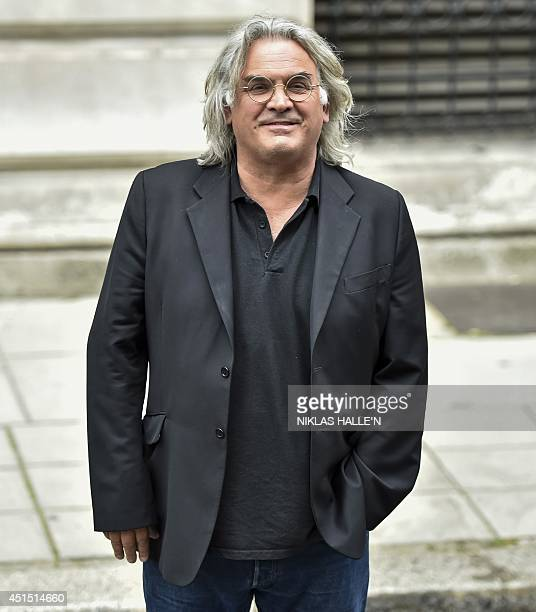 British film director Paul Greengrass arrives for a Best of Creative reception at the Foreign and Commonwealth Office in central London on June 30...