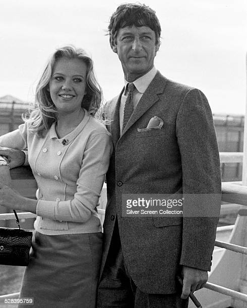 British film producer and director Roy Boulting and actress Hayley Mills circa 1965