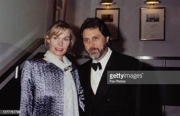 British film producer David Puttnam with his wife Patricia at the BAFTA Awards at the Grosvenor House Hotel in London, 5th March 1985. He collected...