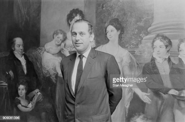 British financier and banker Evelyn De Rothschild, UK, 4th November 1968.