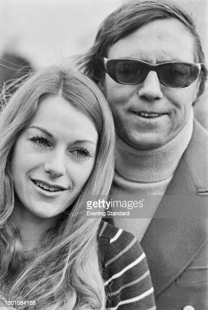 British folk duo Peters and Lee, UK, 2nd March 1973. They are Dianne Lee and Lennie Peters .