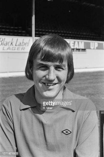 British footballer Colin Boulton of Derby County FC, 1972.