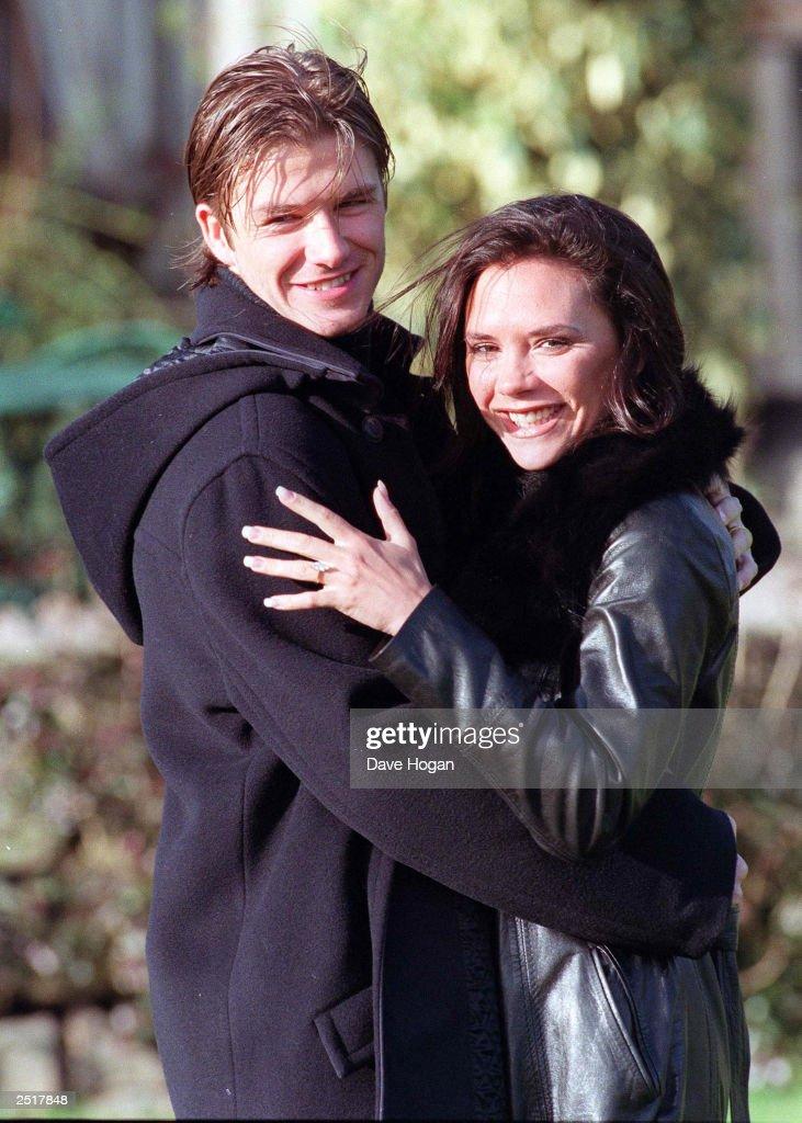 David Beckham and Victoria Adams : Foto di attualità