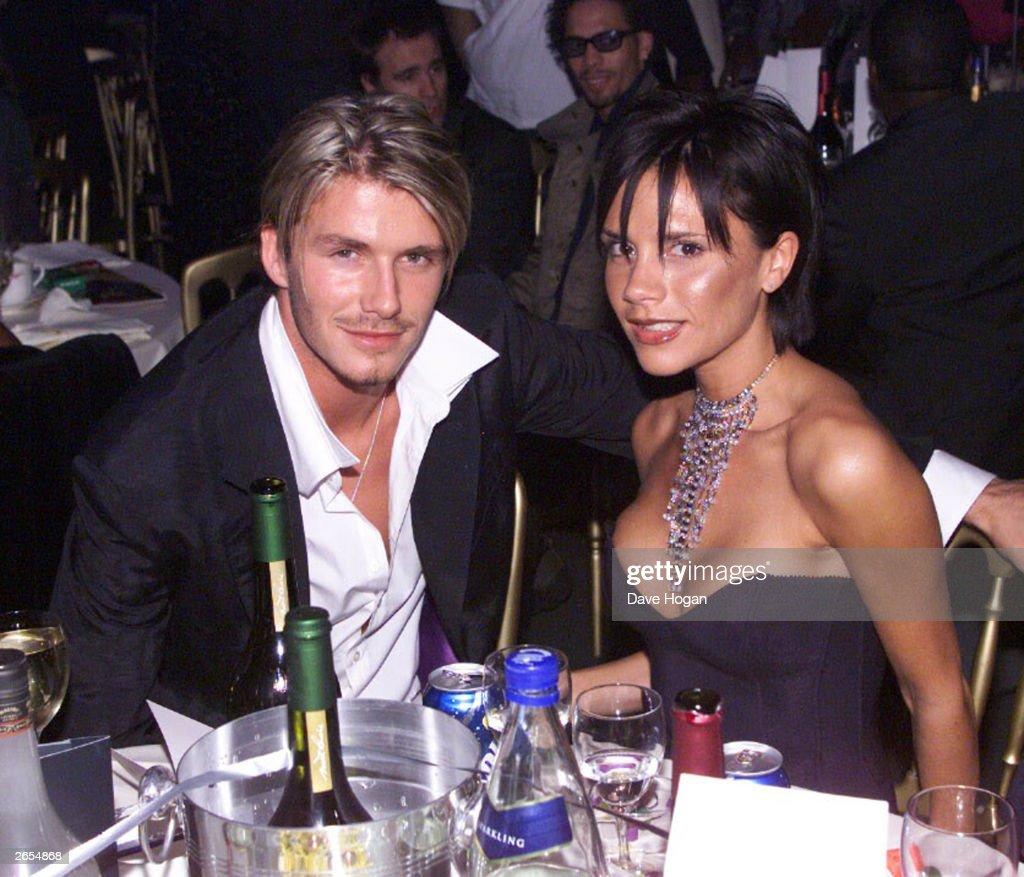 David and Victoria Beckham  : News Photo