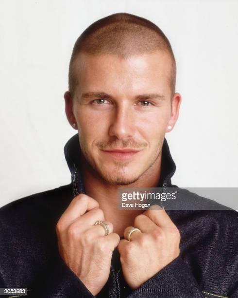British footballer David Beckham circa 2000