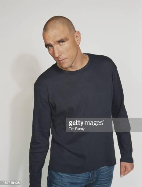 British footballer turned actor Vinnie Jones circa 2002