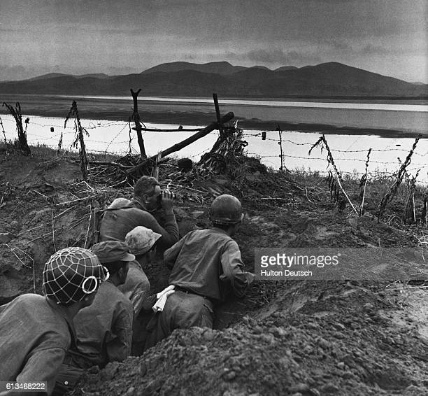 British Forces In Korea. With the United Nations forces going over to the offensive in Korea, Picture Post sends cameraman Bert Hardy to record the...