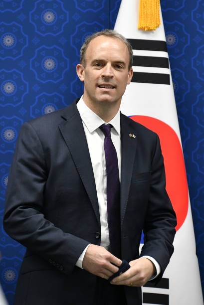 KOR: British Foreign Minister Dominic Raab Meets South Korean Foreign Minister Kang Kyung-wha