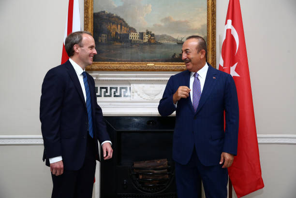GBR: British Foreign Secretary And Turkish Foreign Minister Meet In London