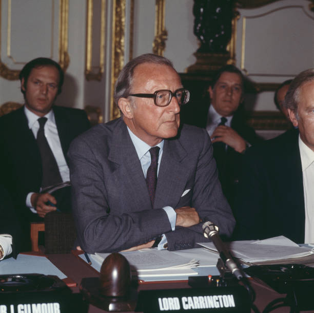 Lancaster House Agreement Pictures Getty Images