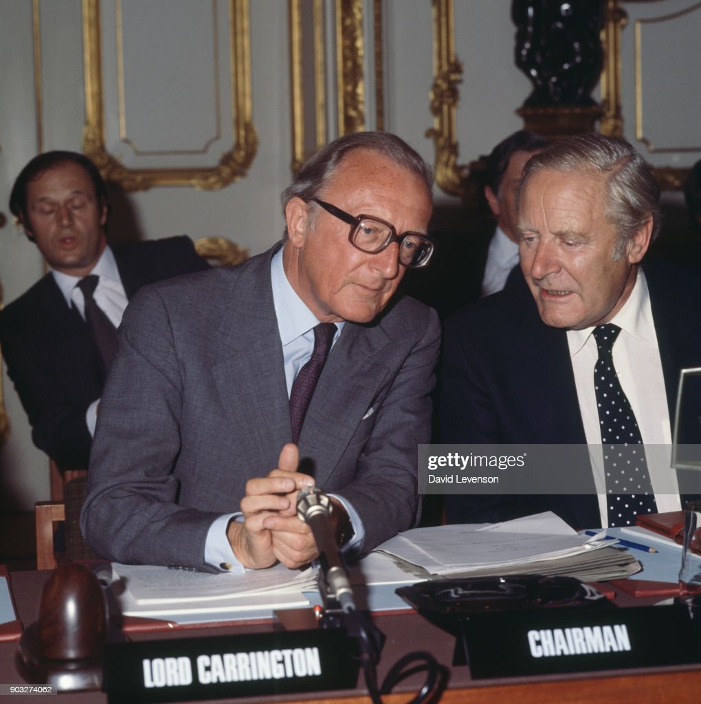 Lancaster house agreement pictures getty images british foreign secretary lord carrington chairing the rhodesia constitutional conference at lancaster house london platinumwayz