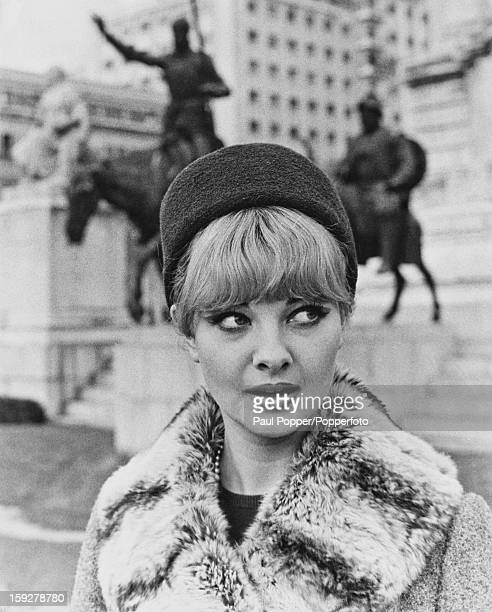 British former model and showgirl Mandy RiceDavies Madrid Spain circa 1965 In 1963 RiceDavies was a key figure in the Profumo Affair which led to the...