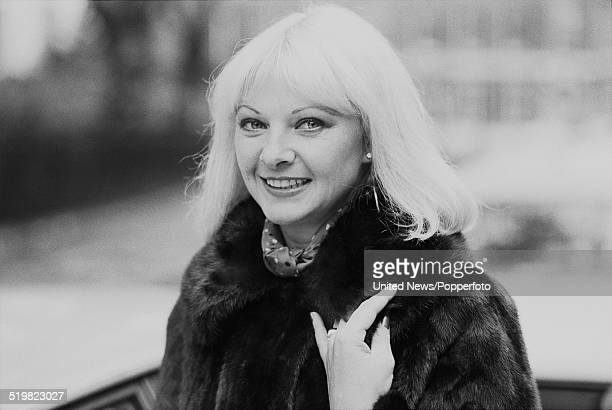 British former model and showgirl Mandy RiceDavies pictured wearing a fur coat in London on 7th November 1980 Mandy RiceDavies became involved along...