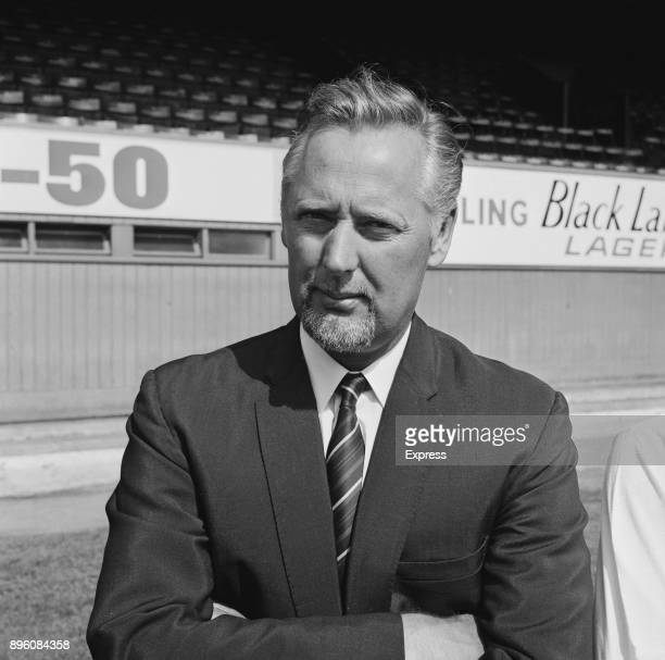 British former soccer player and assistant manager of Derby County FC Peter Taylor UK 3rd September 1971