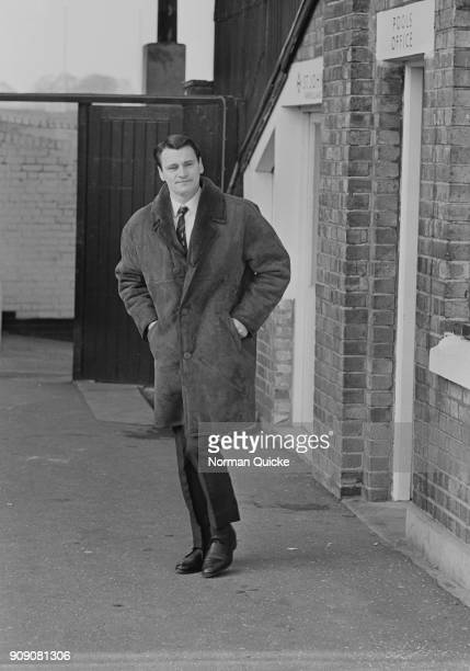 British former soccer player and manager Bobby Robson sacked 10 months after taking charge at Fulham FC London UK 22nd November 1968