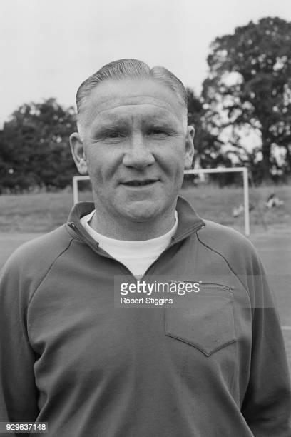 British former soccer player Bill Nicholson manager of Tottenham Hotspur FC UK 29th July 1968