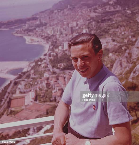 British Formula One racing driver Jim Clark posed in Monte Carlo Monaco for the Monaco Grand Prix in May 1963